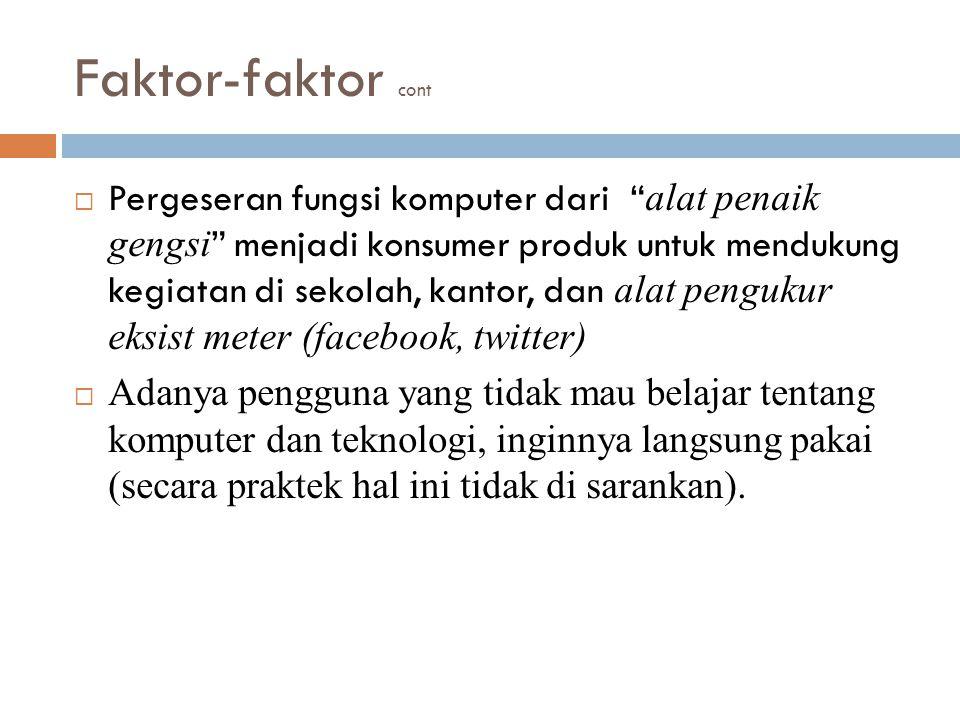 Faktor-faktor cont