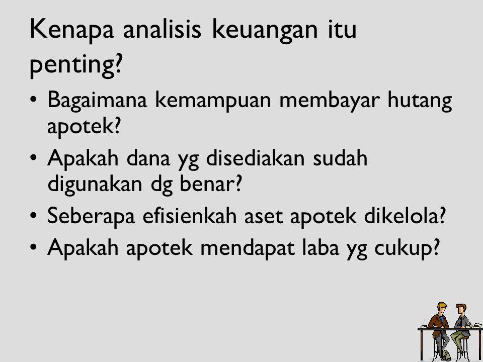 Kenapa analisis keuangan itu penting