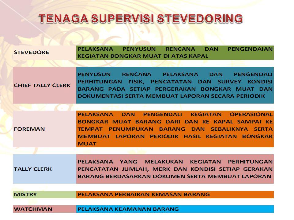 TENAGA SUPERVISI STEVEDORING