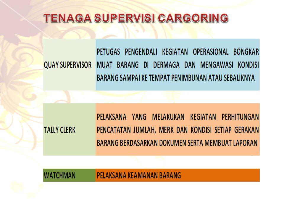 TENAGA SUPERVISI CARGORING
