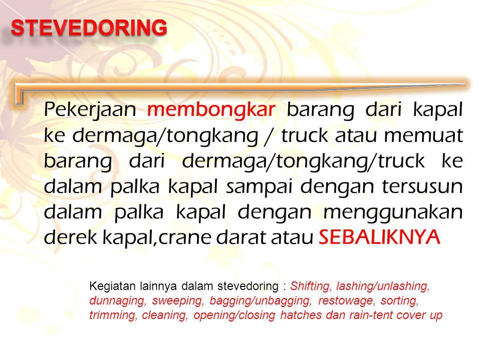 STEVEDORING