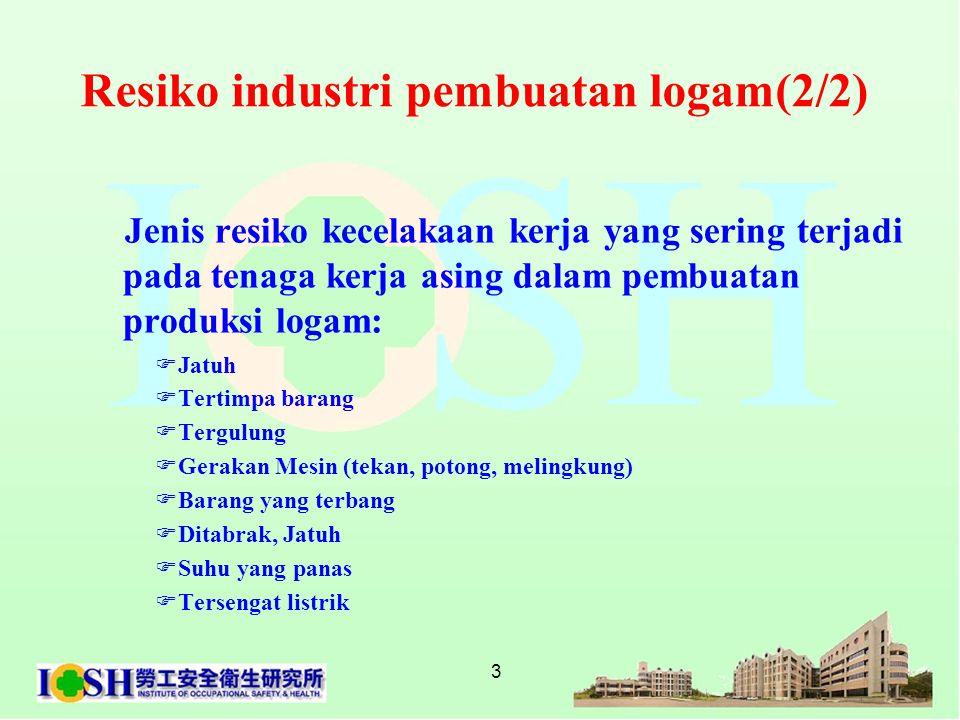 Resiko industri pembuatan logam(2/2)