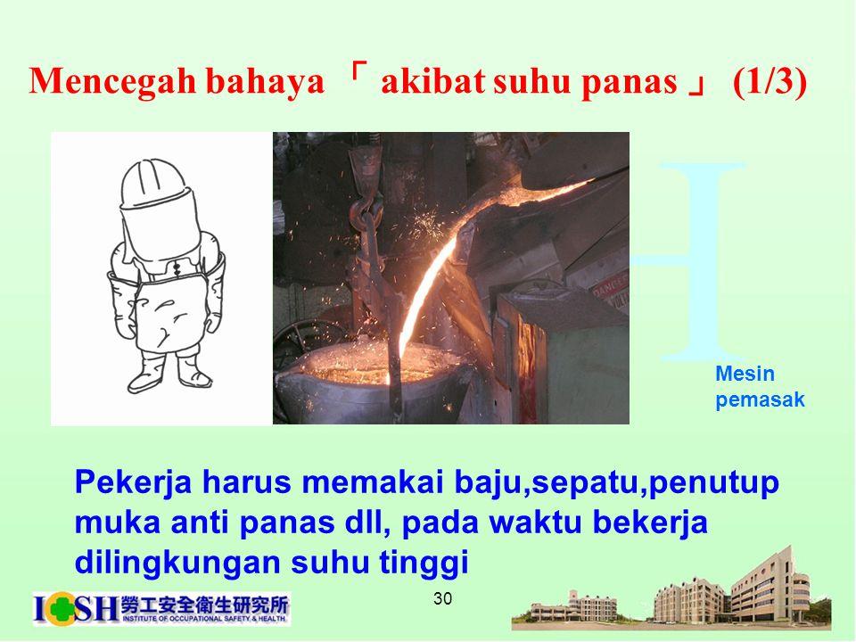 Mencegah bahaya 「 akibat suhu panas 」 (1/3)