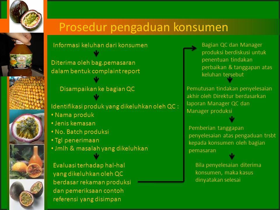 Prosedur pengaduan konsumen