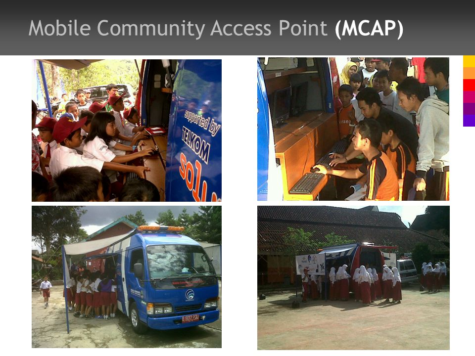 Mobile Community Access Point (MCAP)