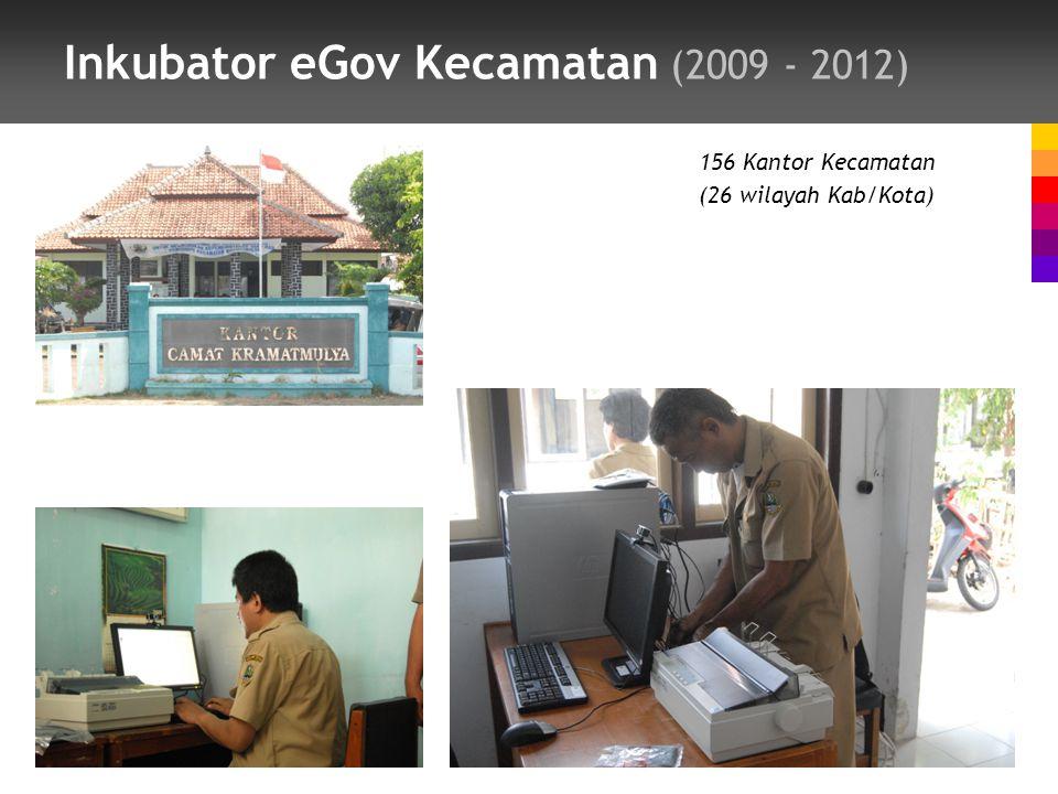 Inkubator eGov Kecamatan (2009 - 2012)