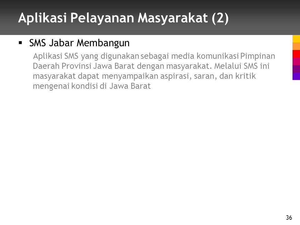 Aplikasi Pelayanan Masyarakat (2)