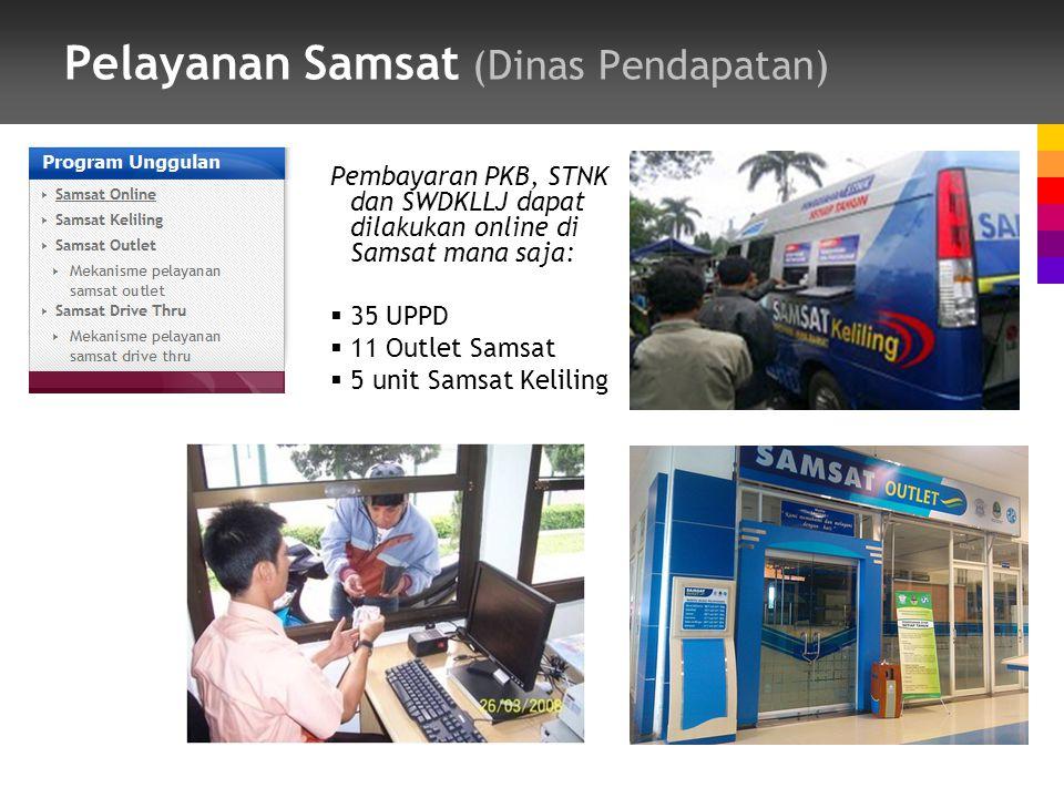 Pelayanan Samsat (Dinas Pendapatan)