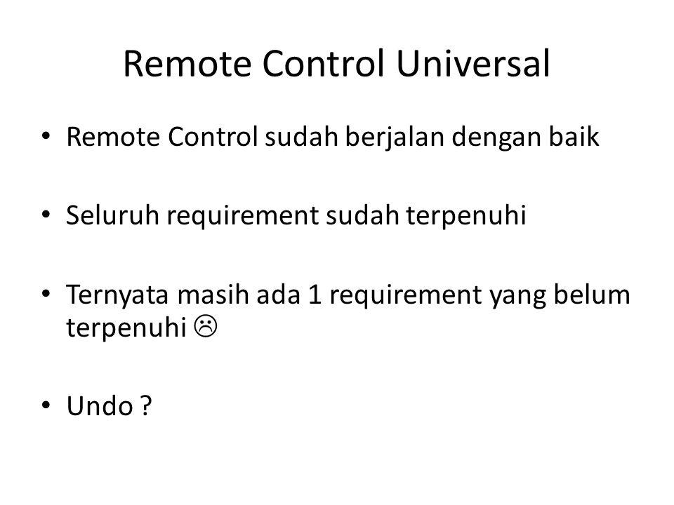 Remote Control Universal