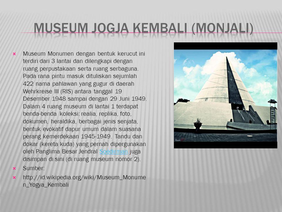 Museum jogja kembali (monjali)