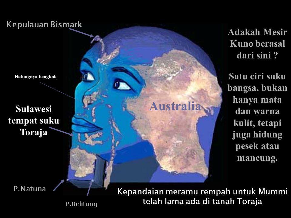 Adakah Mesir Kuno berasal dari sini Sulawesi tempat suku Toraja