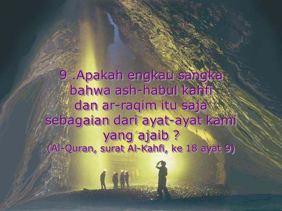 sebagaian dari ayat-ayat kami yang ajaib