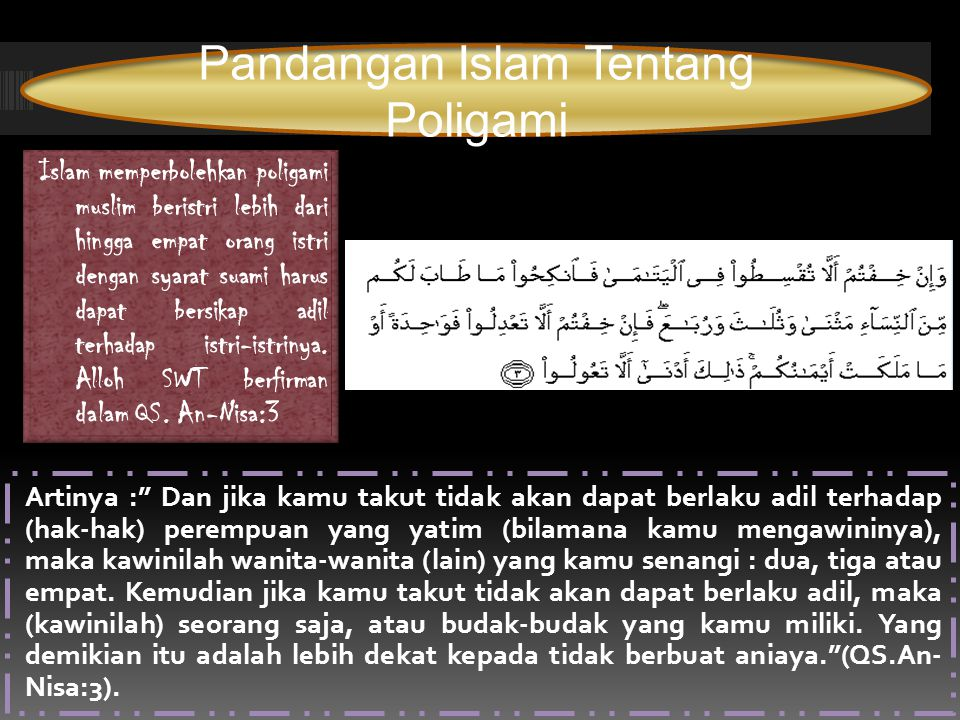 Pandangan Islam Tentang Poligami