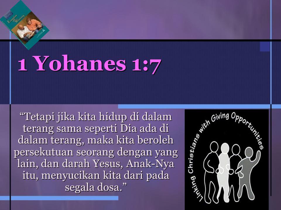 1 Yohanes 1:7
