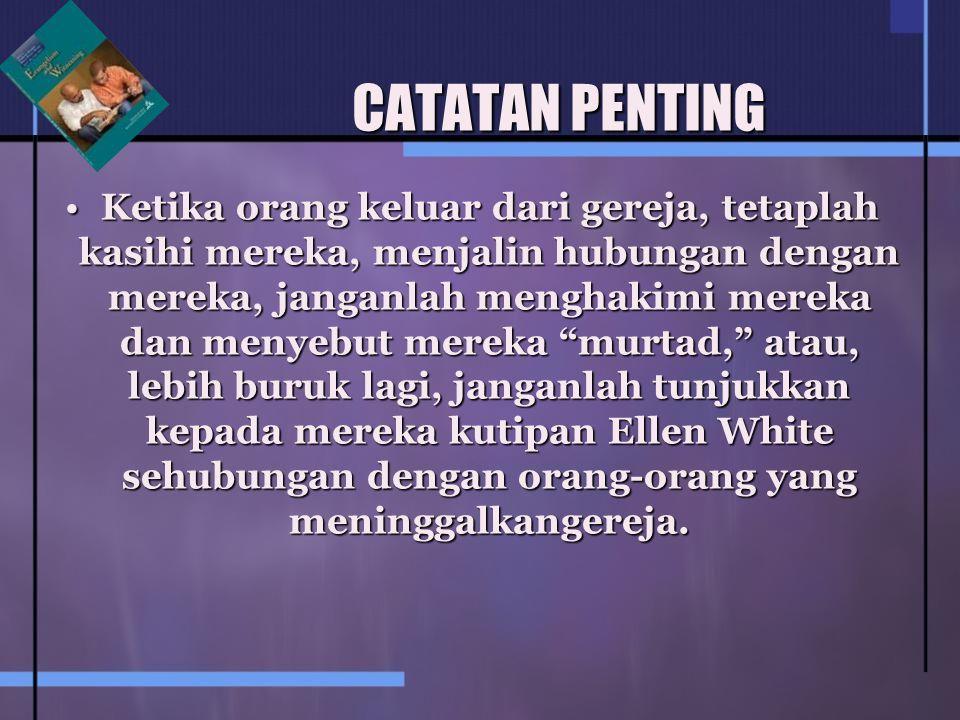 CATATAN PENTING