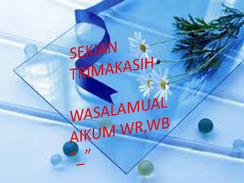 WASALAMUALAIKUM WR,WB _