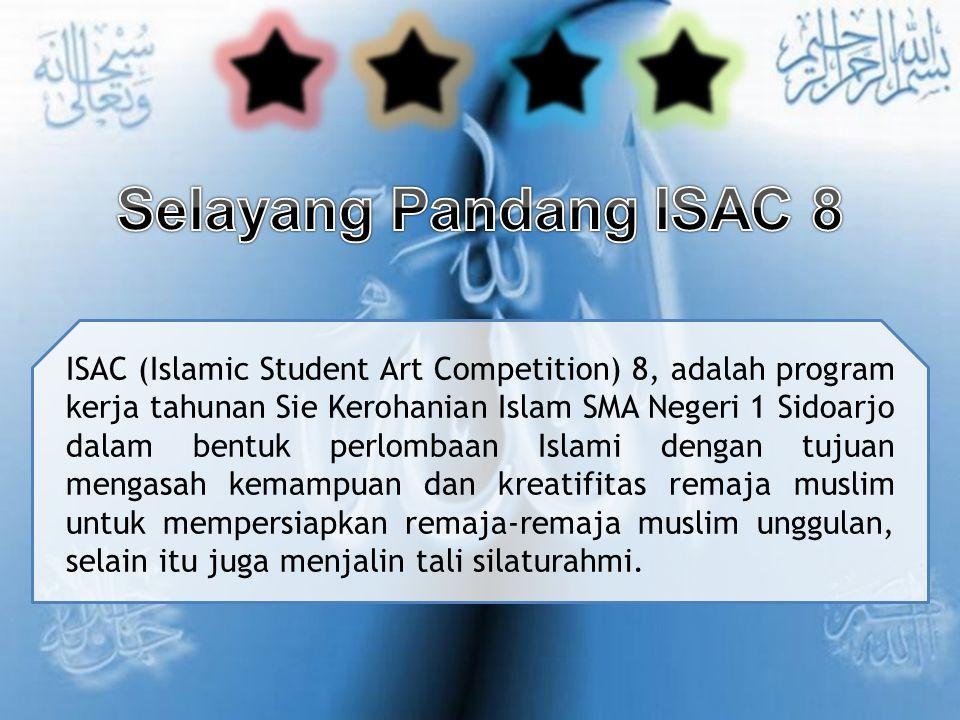 Selayang Pandang ISAC 8