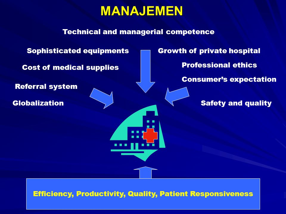 Efficiency, Productivity, Quality, Patient Responsiveness
