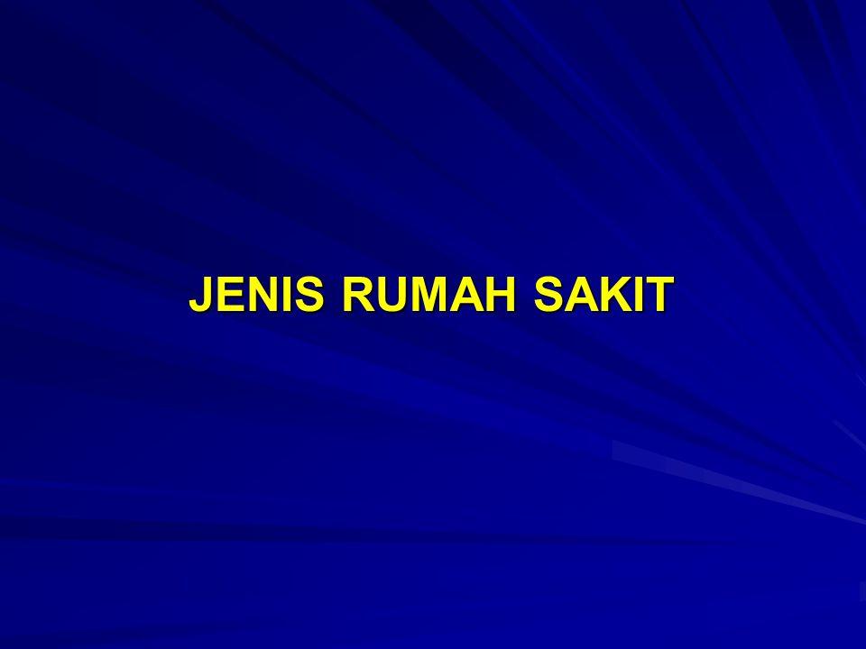 JENIS RUMAH SAKIT