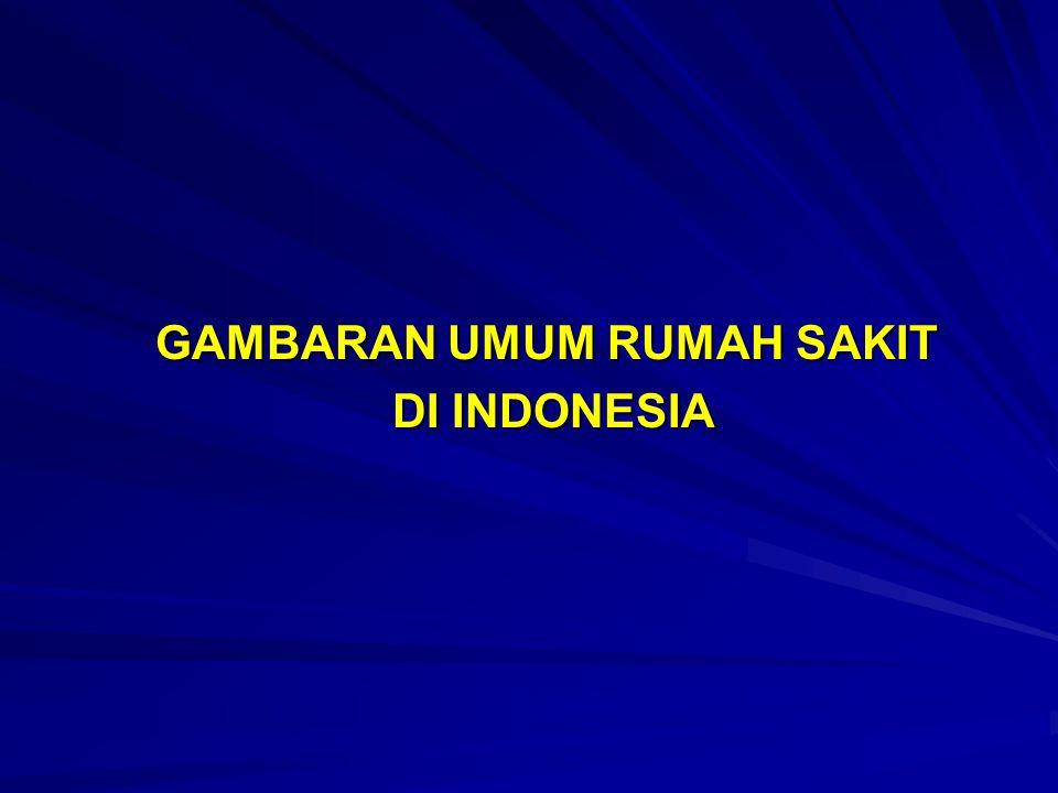 GAMBARAN UMUM RUMAH SAKIT DI INDONESIA
