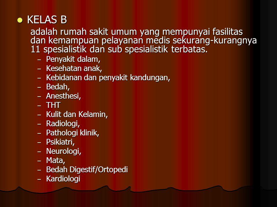 KELAS B