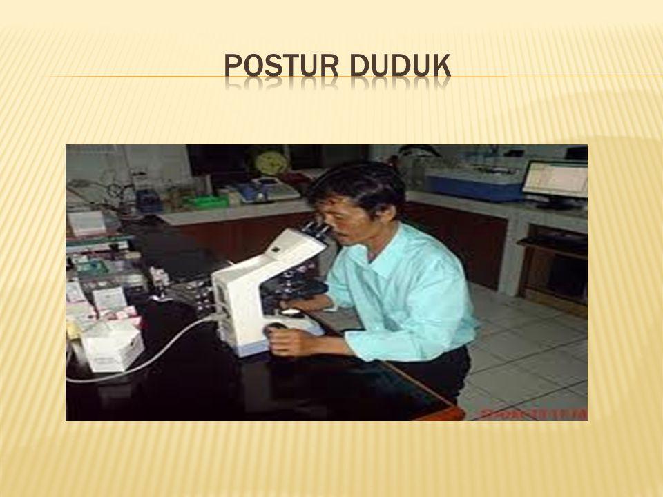 POSTUR DUDUK