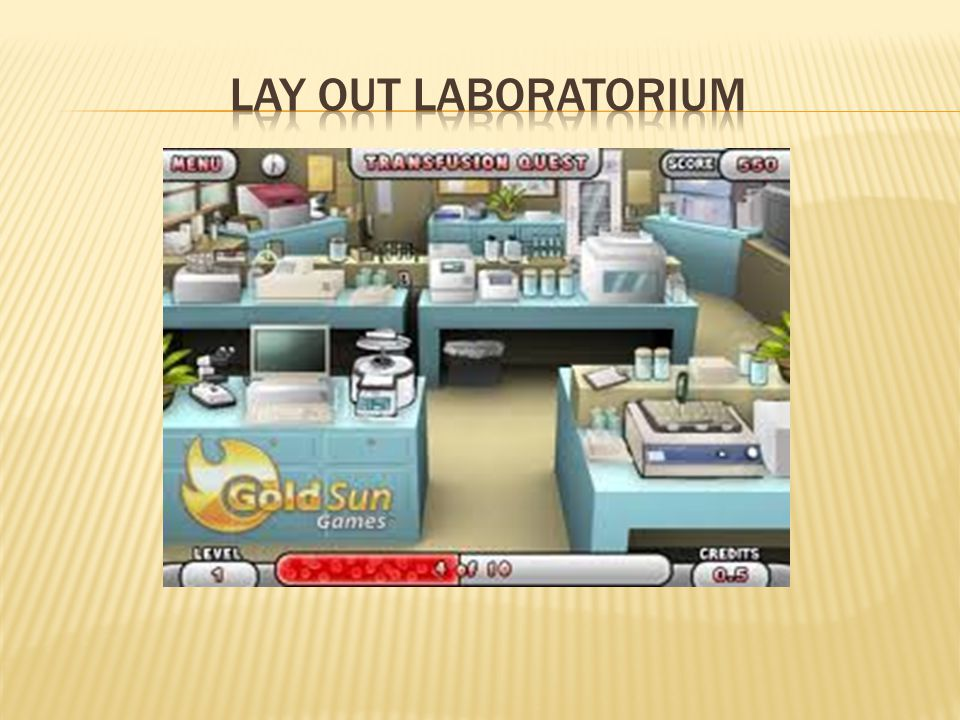 LAY OUT LABORATORIUM