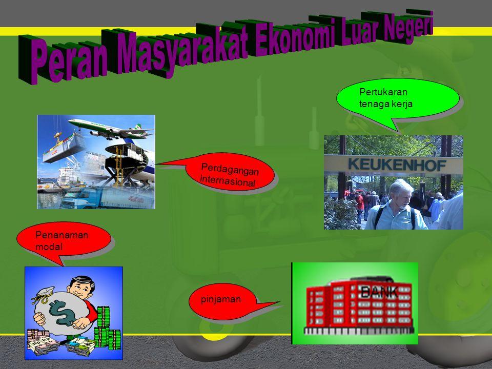 Peran Masyarakat Ekonomi Luar Negeri