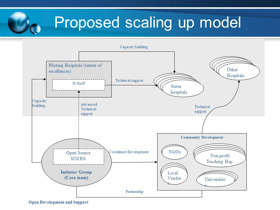 Proposed scaling up model
