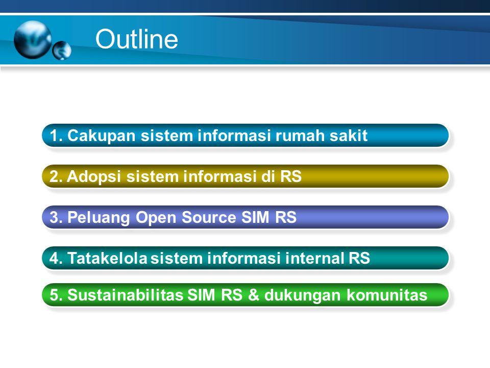 Outline 1. Cakupan sistem informasi rumah sakit