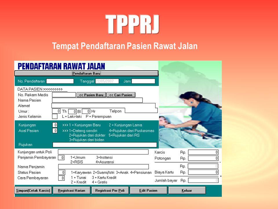TPPRJ Tempat Pendaftaran Pasien Rawat Jalan