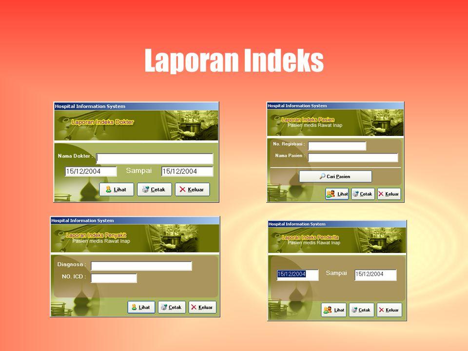 Laporan Indeks