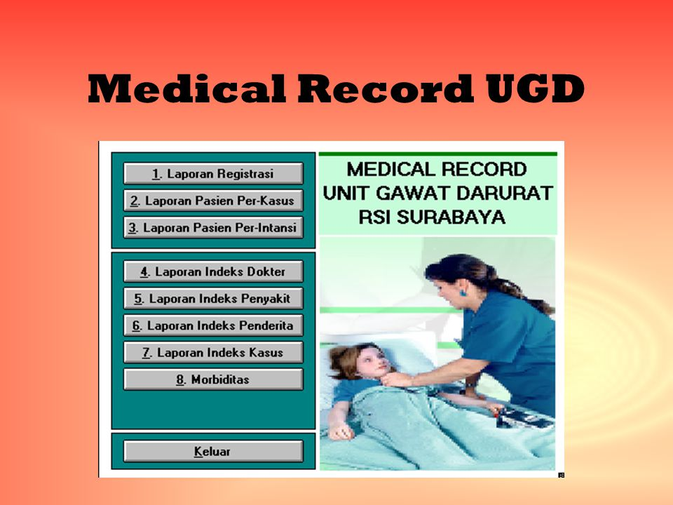 Medical Record UGD