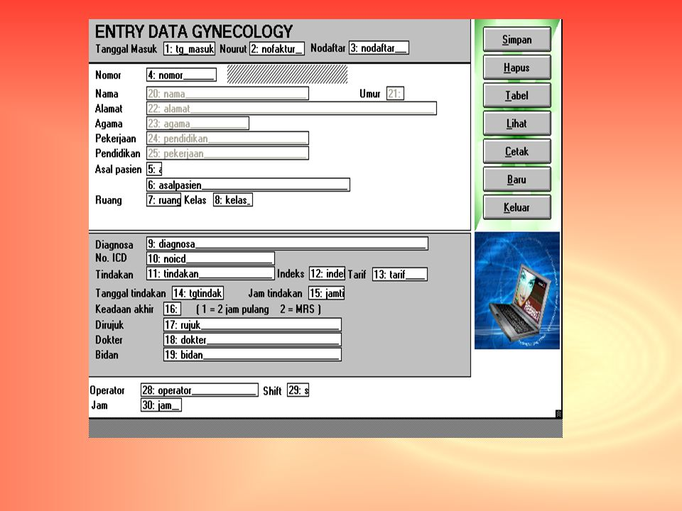 Entri Data Gynecology