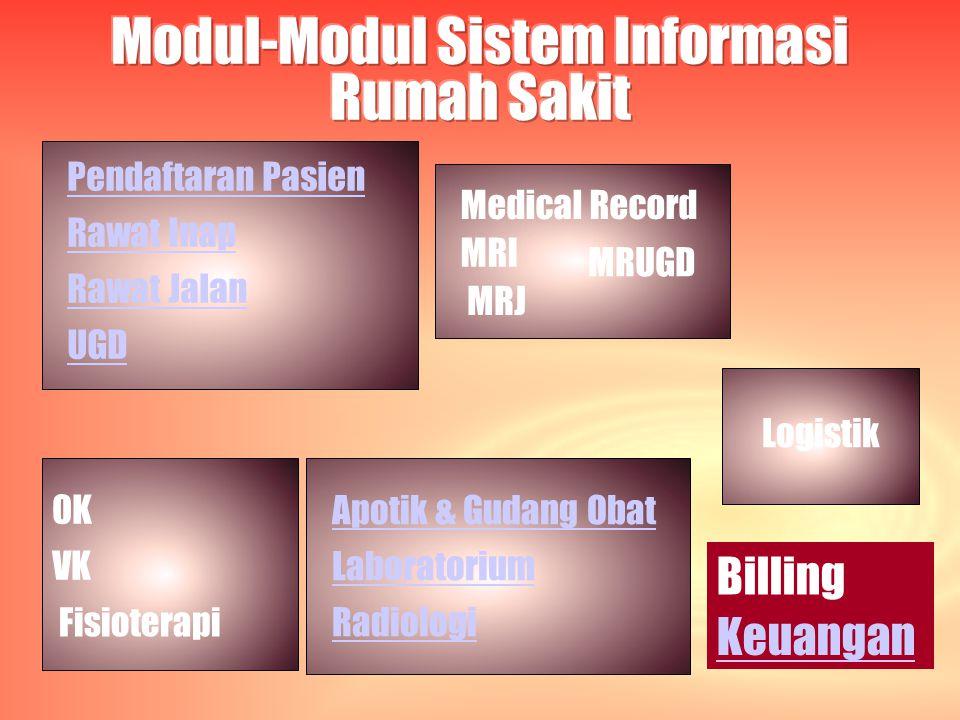 Modul-Modul Sistem Informasi Rumah Sakit