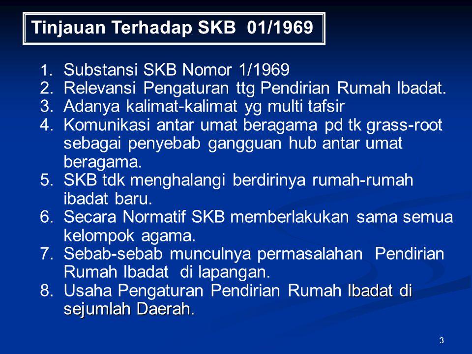 Tinjauan Terhadap SKB 01/1969