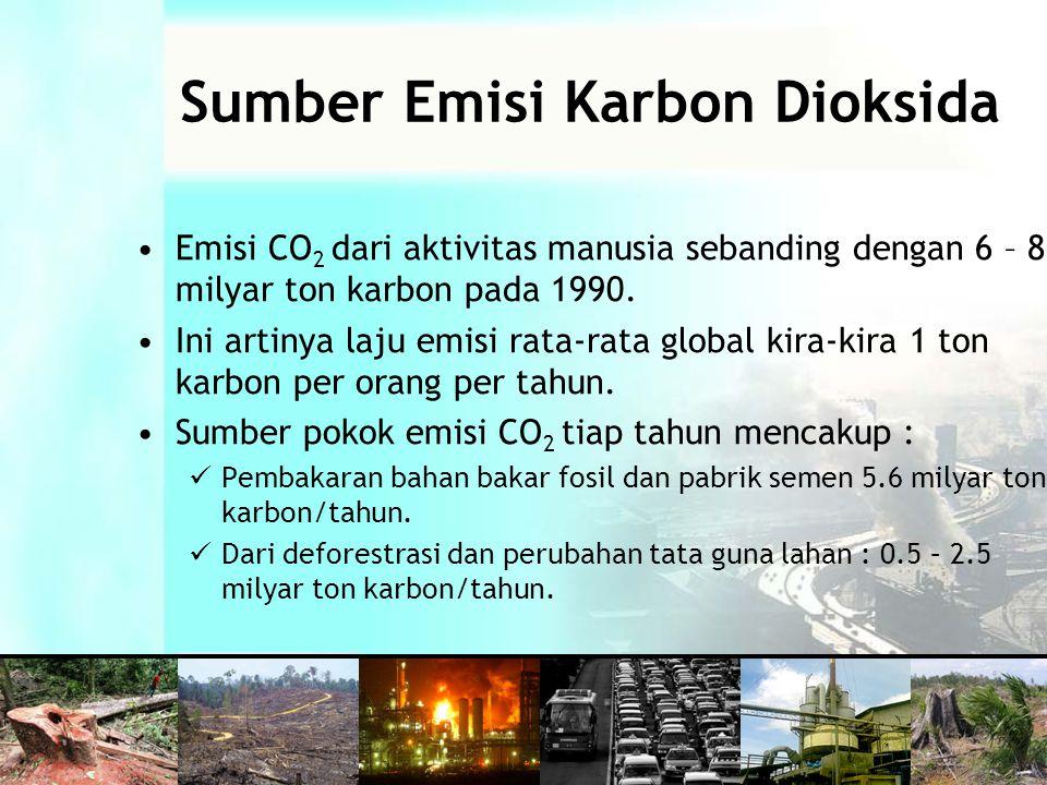 Sumber Emisi Karbon Dioksida