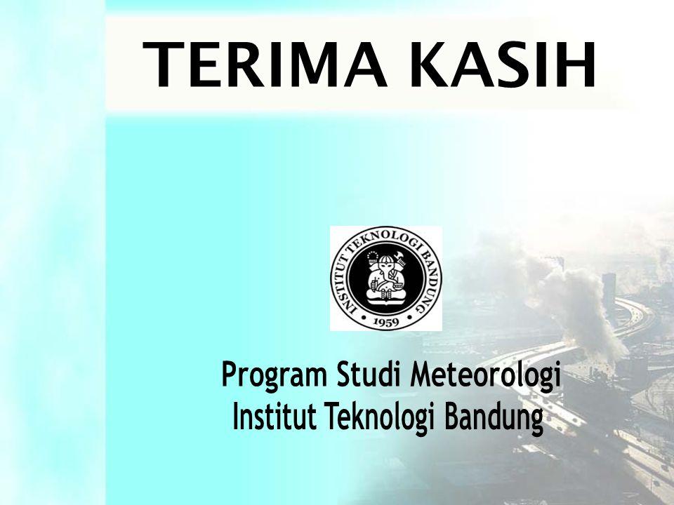 Program Studi Meteorologi Institut Teknologi Bandung