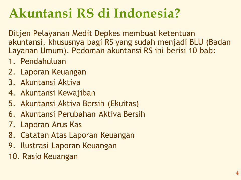 Akuntansi RS di Indonesia