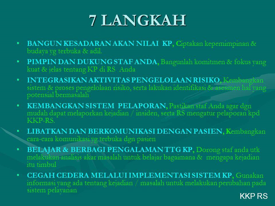7 LANGKAH BANGUN KESADARAN AKAN NILAI KP, Ciptakan kepemimpinan & budaya yg terbuka & adil.