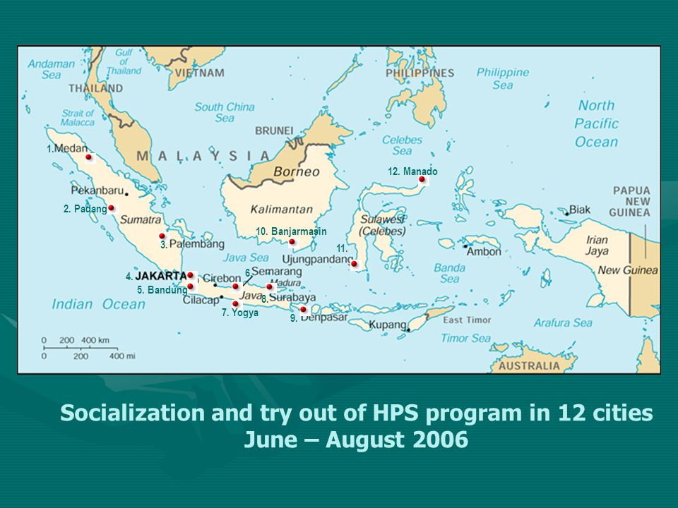 Socialization and try out of HPS program in 12 cities