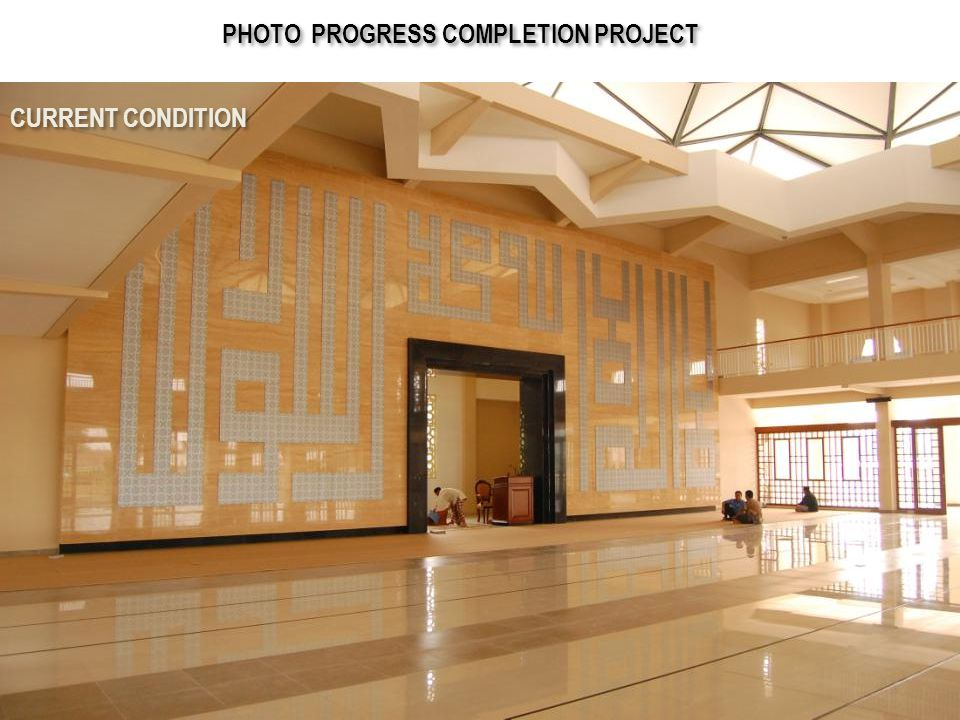 PHOTO PROGRESS COMPLETION PROJECT
