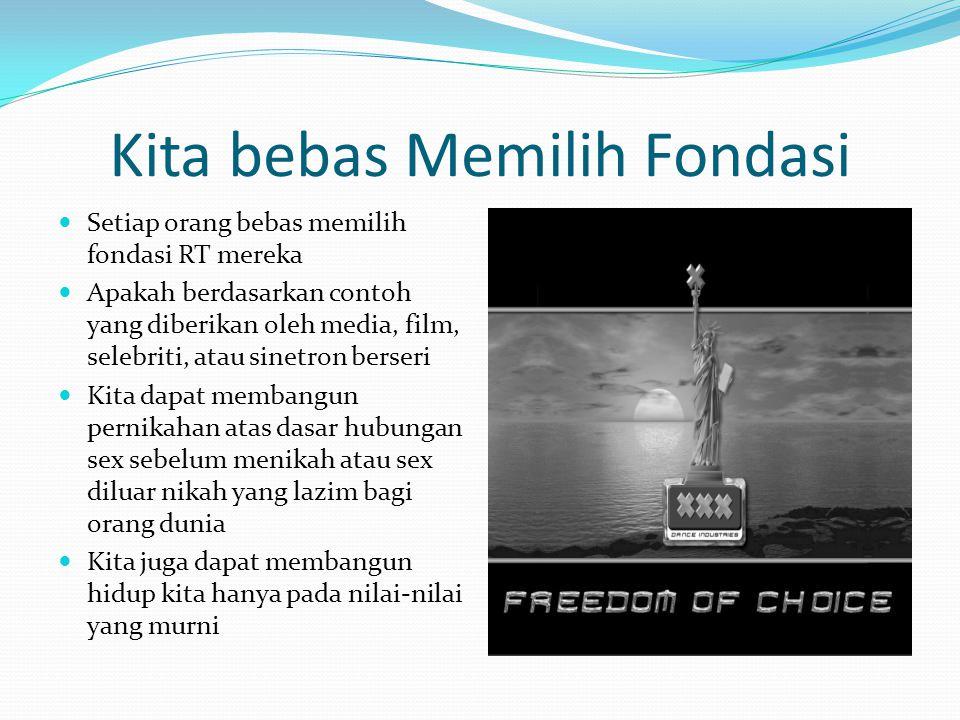 Kita bebas Memilih Fondasi