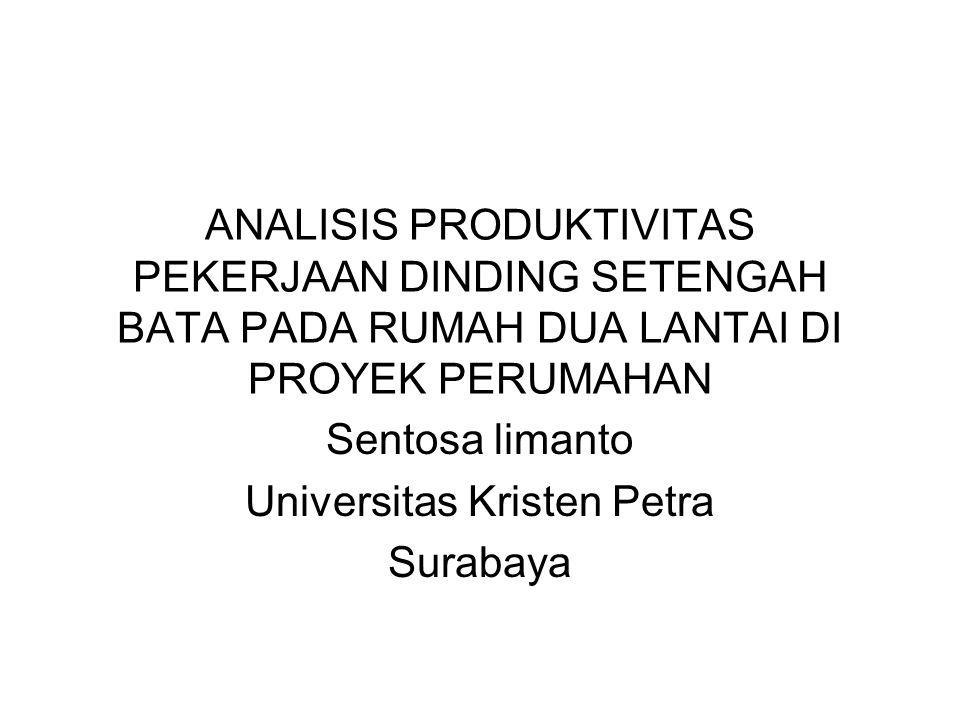 Sentosa limanto Universitas Kristen Petra Surabaya