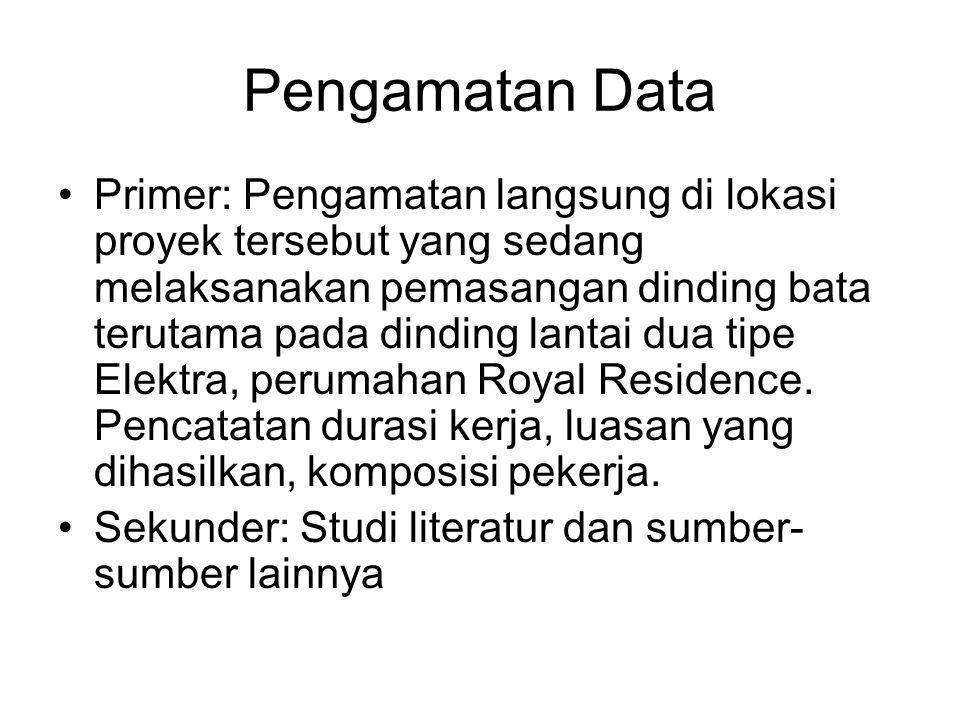 Pengamatan Data