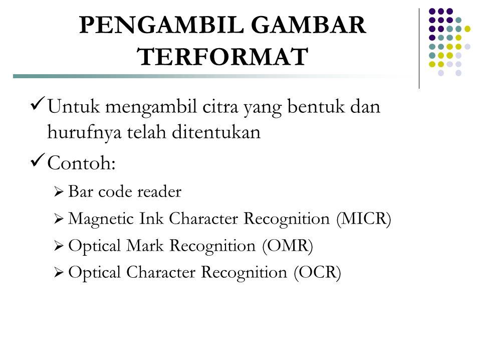 PENGAMBIL GAMBAR TERFORMAT