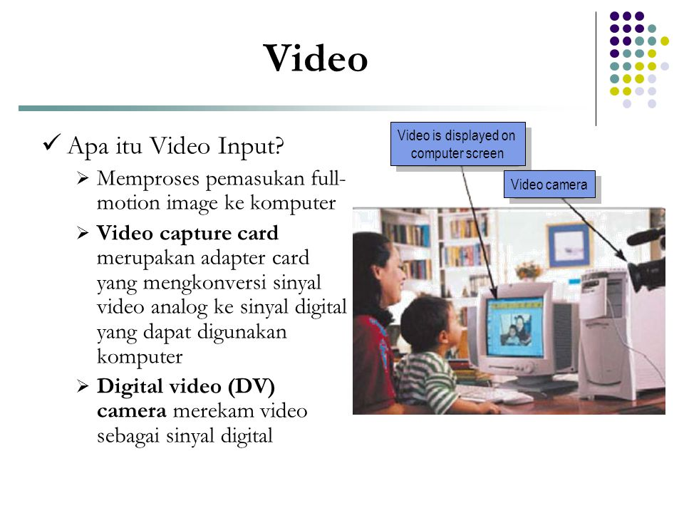 Video Apa itu Video Input