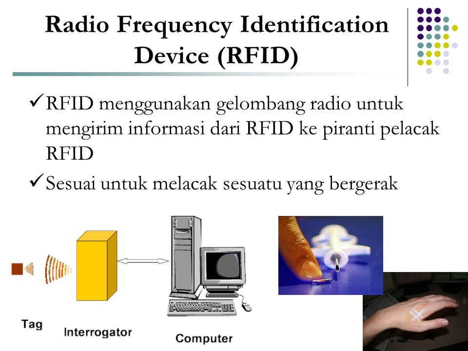 Radio Frequency Identification Device (RFID)