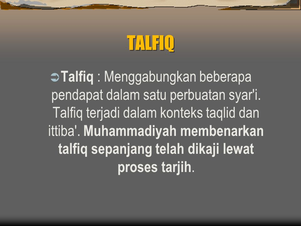 TALFIQ