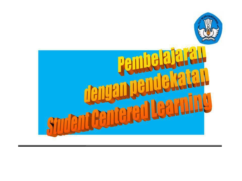 Pembelajaran dengan pendekatan Student Centered Learning